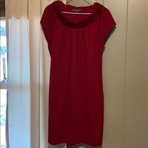Jones wear Burgundy Dress Size 10 Like New